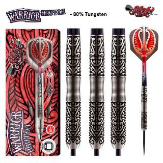 Warrior Hautoa 80% Steeltip Darts   Darts Warehouse