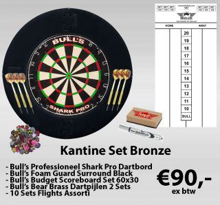 Kantine Set Bronze | Bedrijfskantine Darten | Darts Warehouse