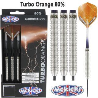 Turbo Orange 80% | McKicks Dartpijlen | Dartshop Dartswarehouse