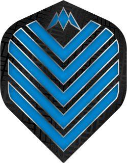 Mission Admiral Std. Aqua Blue Dartflight   Darts Warehouse