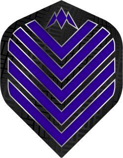 Mission Admiral Std. Dark Blue Dartflight   Darts Warehouse