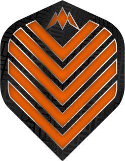 Mission Admiral Std. Orange Dartflight   Darts Warehouse