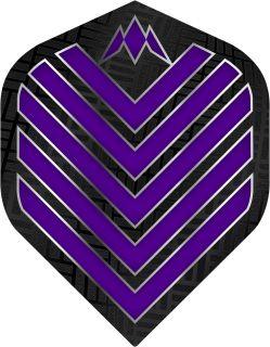 Mission Admiral Std. Purple Dartflight   Darts Warehouse