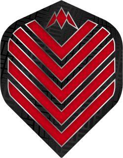 Mission Admiral Std. Red Dartflight   Darts Warehouse