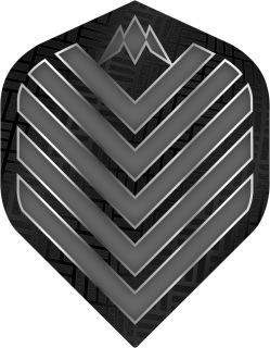 Mission Admiral Std. Grey Dartflight   Darts Warehouse
