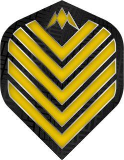 Mission Admiral Std. Yellow Dartflight   Darts Warehouse
