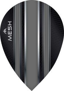 Mission Mesh Pear Grey Dartflight   Darts Warehouse