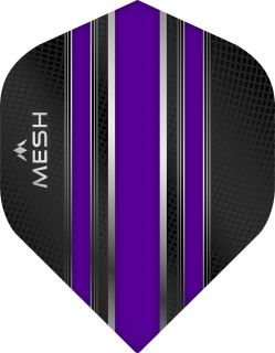 Mission Mesh Std. Purple Dartflight   Darts Warehouse