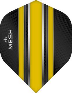 Mission Mesh Std. Yellow Dartflight   Darts Warehouse