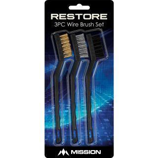 Restore Brush Cleaning Kit 3 Brushes | Darts Warehouse