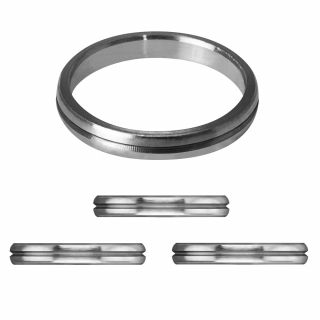 Mission S-Lock Titanium Silver Rings 1 mm | Darts Warehouse