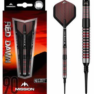 Mission Red Dawn 90% M1 Softtip Darts   Darts Warehouse