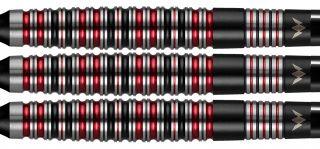 Mission Red Dawn 90% M3 Softtip Darts   Darts Warehouse