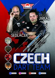 Martin Schindler The Wall Player Poster Bull's NL | Darts Warehouse