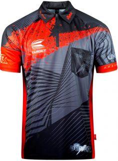 Officiële Westrijd Dart shirt 2018 van Phil Taylor   Darts Warehouse