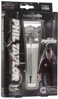 Phil Taylor Power 9Zero 90% Softtip | Darts Warehouse