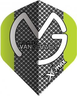 Michael van Gerwen Dartflights | Grey Black Dots | Darts Warehouse