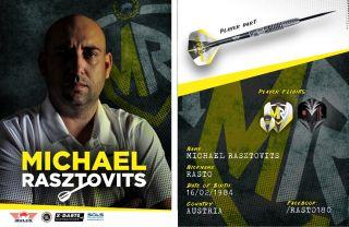 Michael Rasztovits Rasto Signcard | Darts Warehouse