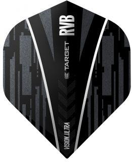 Vision Ultra Ghost RVB Target Dartflights   Darts Warehouse