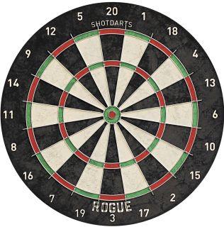 Shot Rogue Bristle Dartboard   Darts Warehouse