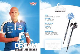 Sebastian Steyer Handtekeningkaart 2020 | Darts Warehouse