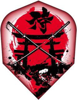 Shot The Samurai Toni Alcinas Std.6 Flight | Darts Warehouse
