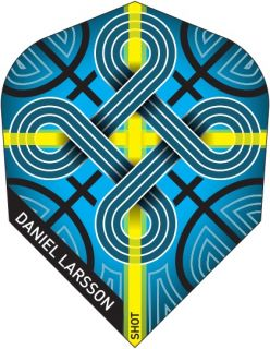 Shot Branded Std.6 Daniel Larsson | Darts Warehouse
