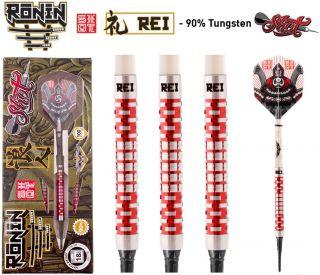 Shot Ronin Rei 1 CW 90% Softtip Darts   Darts Warehouse