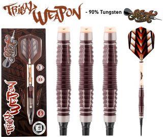 Shot Tribal Weapon 3 CW 90% Softtip Darts   Darts Warehouse