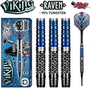 Softtip Viking Raven 90% Shot Darts