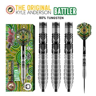 Kyle Anderson Battler 80% Steeltip Shot Darts | Darts Warehouse