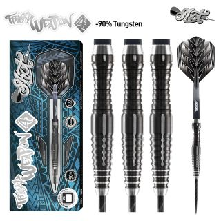 Tribal Weapon 4 90% Black Titanium Shot Steeltip   Darts Warehouse
