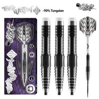 Tribal Weapon 5 90% Black Titanium Shot Steeltip   Darts Warehouse