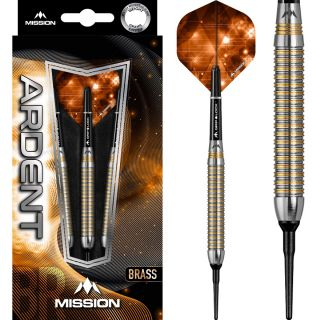 Mission Ardent Tungsten Look M1 Softtip   Darts Warehouse