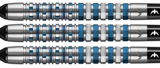 Mission Kronos 95% M3 Blue Titanium Softtip Darts   DartsWarehouse