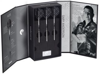 Softtip Noir Gary Anderson Phase 3 90% | Darts Warehouse