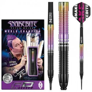Softtip Peter Wright W.C. 2020 90% Snakebite   Darts Warehouse