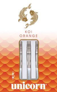 Softtip Koi Orange 90% Unicorn Dartpijlen   Darts Warehouse