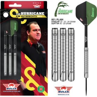 Kim Huybrechts 80% Plain  Bull's Darts   Darts Warehouse