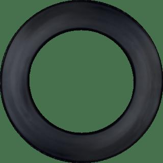 Black Dartboard Lite Surround Bull's
