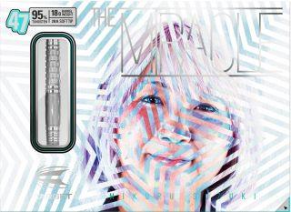 Mikuru Suzuki 95% Miracle 47 Target Softtip | Darts Warehouse