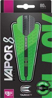 Vapor8 Black Green Swiss 80%   Target Dartpijlen   DartsWarehouse