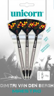 Softtip Maestro Dimitri Van den Bergh 70% Unicorn   Darts Warehouse