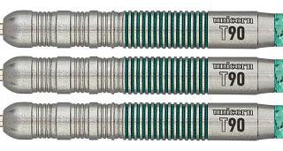 Unicorn Core XL T90 Green 1 Darts | Darts Warehouse